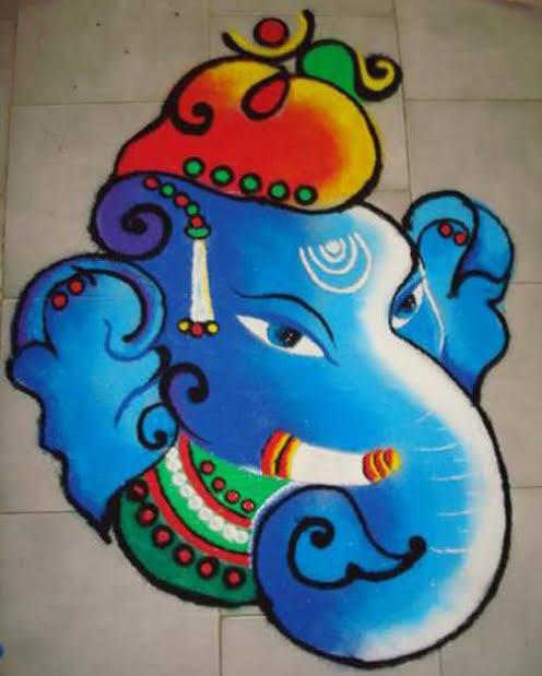 10+ Best Rangoli Design for Diwali 2020-21